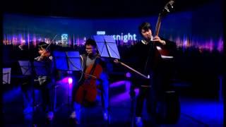 NEWSNIGHT: Fukushima Youth Sinfonietta play Newsnight theme