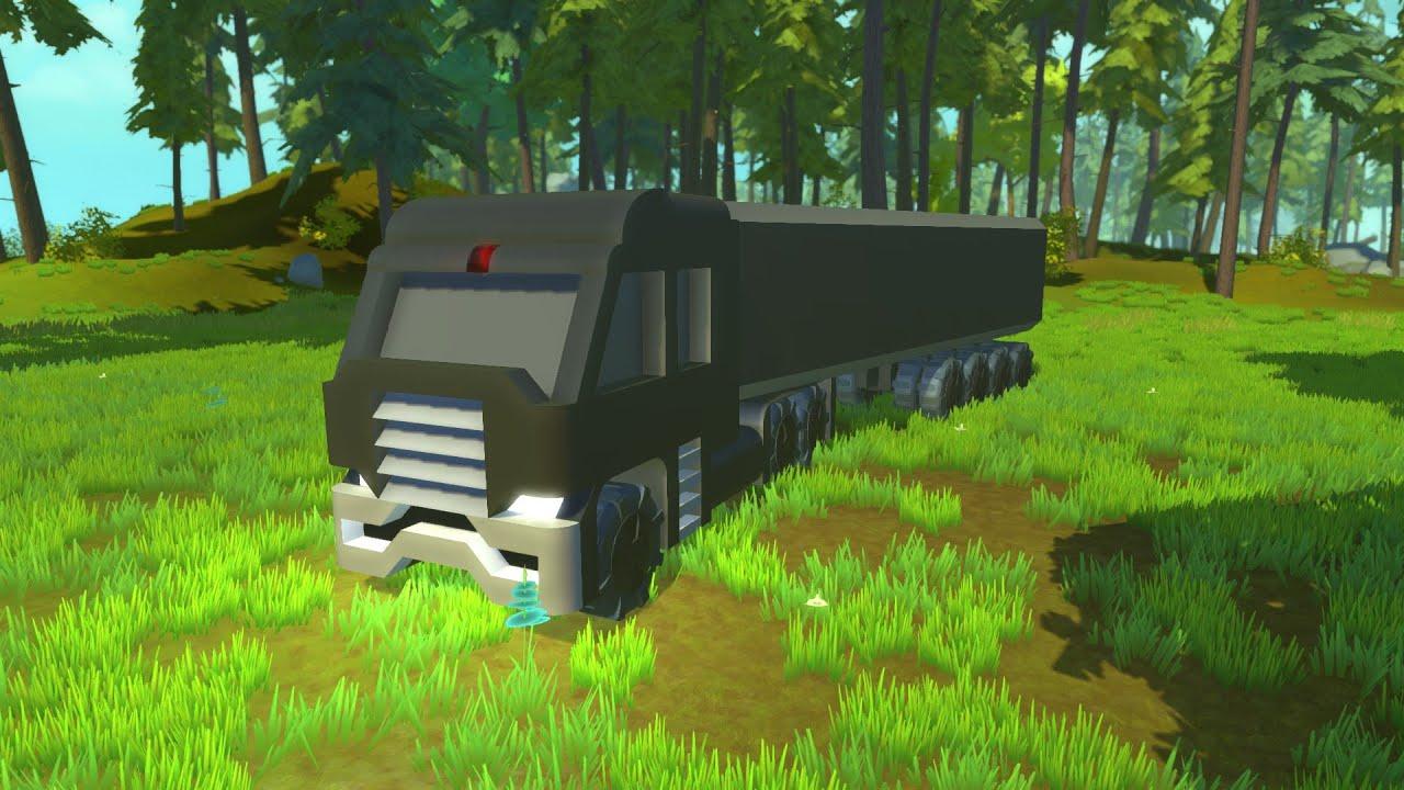 Dr Robotnik Truck Scrap Mechanic Youtube