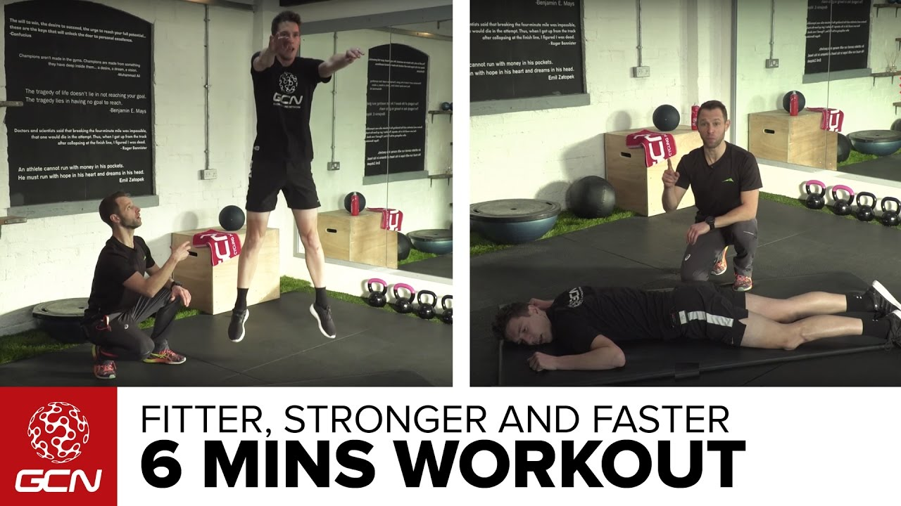 Fitter Stronger Faster Bodyweight Workout For Road Cycling Youtube The Basic Circuit Training We Did Today