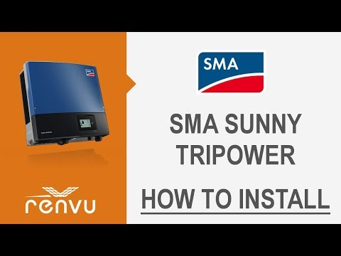 how to install the sma sunny tripower renvu youtube Coil Wiring Diagram