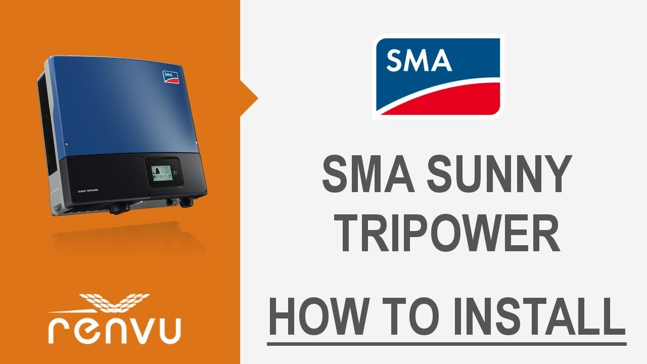 Sma Tri Power System Wiring Diagram Schematic Diagrams How To Install The Sunny Tripower Renvu Youtube Boiler Thermostat