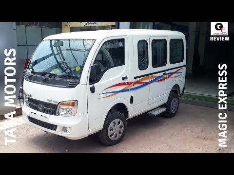 Tata Magic Express | Detailed Walkaround Review | Features | Specs | Price !!!