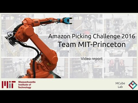 Amazon Picking Challenge 2016 - Team MIT-Princeton - Summary