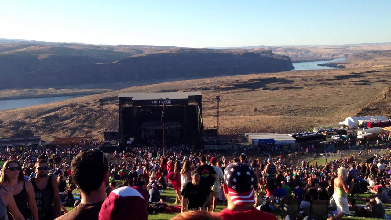 Gorge Amphitheatre Concert Tickets And Seating View Vivid