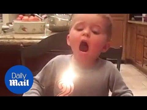 Неуспешен обид за дување свеќичка