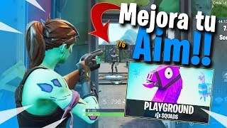 Mejora tu AIM con minijuegos de patio | Fortnite Battle Royale