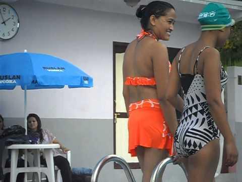 Nepali girl swiming pool nacket