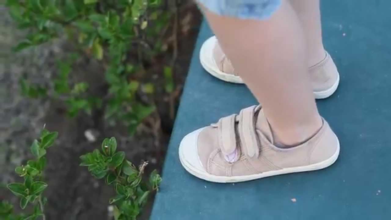 273cc8a4ca2 Zapatillas de Lona Lavadas con Velcros para Niños - Calzado Infantil Online  PIsamonas