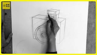 기본기 - 육면체 드로잉 (디지털 카메라)