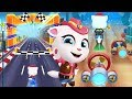 Cowboy Angela Scuba Diving For Gold # 4 - Talking Tom Gold Run