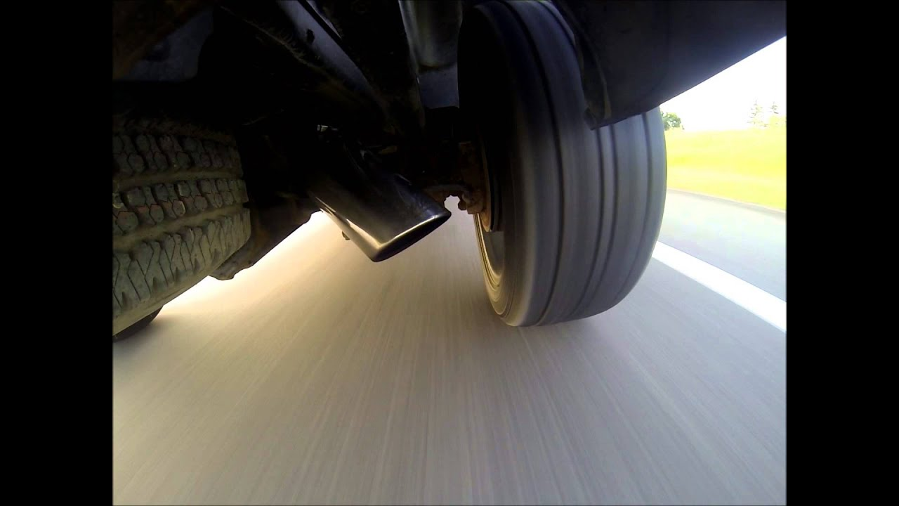2008 LMM Duramax Dumped Exhaust Clip Drive-By GoPRO ...