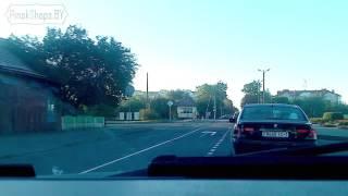 Авария в Пинске на ж/д переезде.