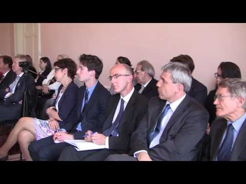 H.E. Dušan Matulay - The Priorities of the Slovak Presidency of the Council of the EU