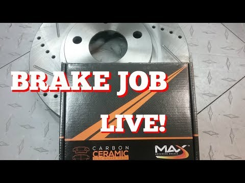 Max Advanced Brakes >> Installing Max Advanced Brakes Slotted And Drilled Rotors Live