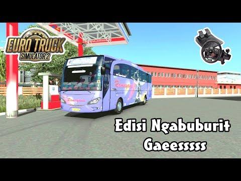 Euro Truck Simulator 2 | Ngabuburit Bareng Bus Ramayana Ke Pantura