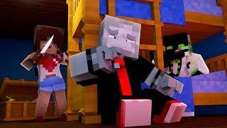 DAS VERRÜCKTE MÄDCHEN im GRUSEL HAUS?! - Minecraft [Deutsch/HD]
