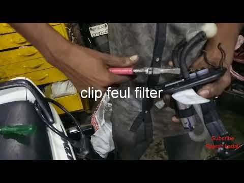 Changing fuel pump of ktm 200