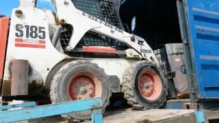 Работа трактора BOBCAT в Якутии 2