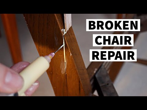 Repairing A Broken Chair | Furniture Repair & Restoration