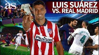 LUIS SUÁREZ vs. REAL MADRID | Los números del uruguayo ante el Madrid | Diario AS