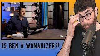 BEN SHAPIRO Giving Dating and Relationship Advice to Fans   HasanAbi reacts