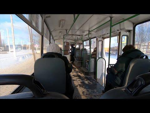 Костромской троллейбус, маршрут №1 (м-н Паново - п.Октябрьский)