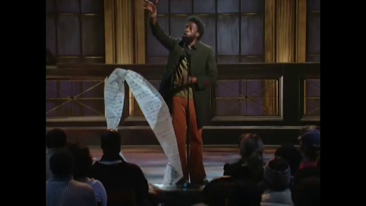 Saul Williams | Coded Language on Def Jam Poetry