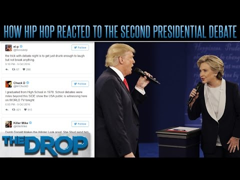 Hip Hop's Voices Respond to 2nd Presidential Debate – The Drop Presented by ADD