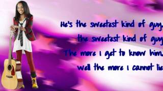 ANT Farm-China Anne Mcclain (Chyna Parks)-My Crush (Lyrics) HD