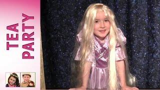Princess Rosie as Rapunzel