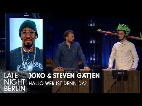 Jérôme Boateng? Joko & Steven Gätjen raten den Promi! | Late Night Berlin | ProSieben