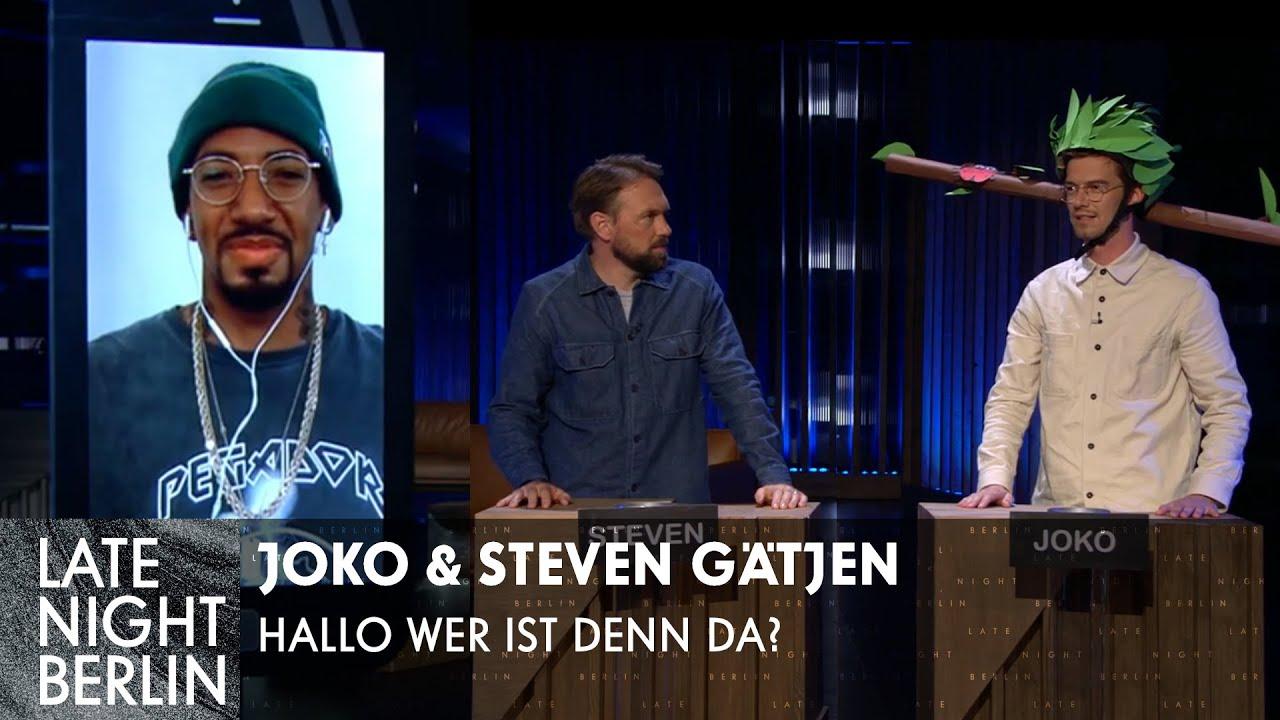 Jérôme Boateng? Joko & Steven Gätjen raten den Promi!   Late Night Berlin   ProSieben