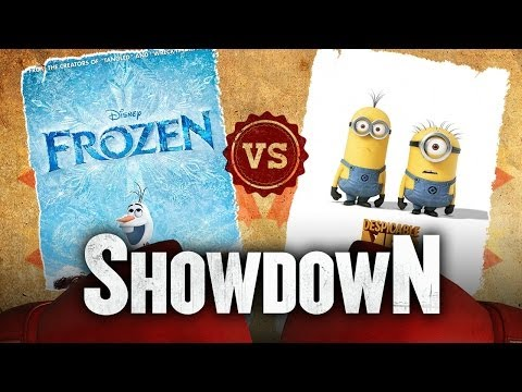 Frozen vs. Despicable Me 2 - Which Animation Movie Is Better? Showdown HD