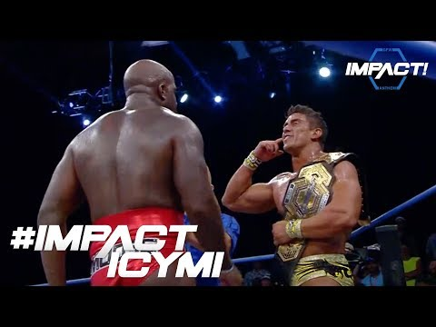 Your Winner AND NEW IMPACT GRAND CHAMPION EC3!!!   #IMPACTICYMI August 3rd, 2017