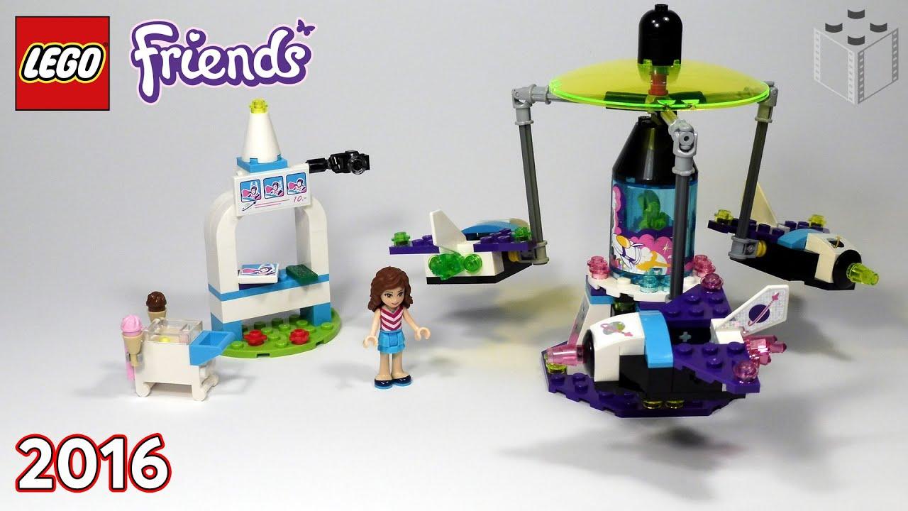 41128 Lego Friends Amusement Park Space Ride Lego Speed Build
