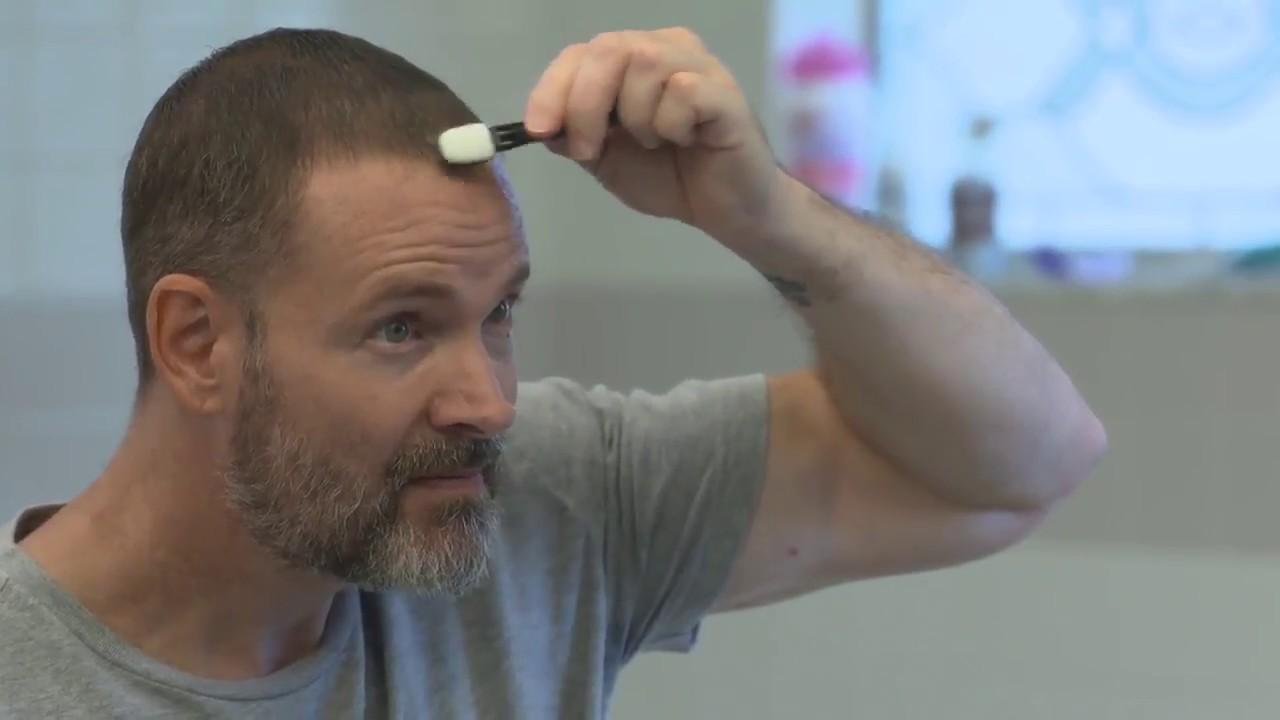 DermMatch Waterproof Hair Loss Concealer While Swimming