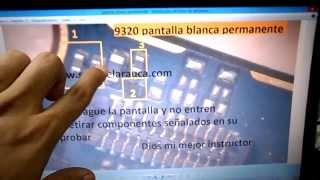 arreglo blackberry 9320 reparacion pantalla blanca permanente , repair display white permanent