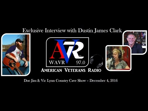 American Veterans Radio Interviews Dustin James Clark from St. Louis, Missouri December 4, 2016