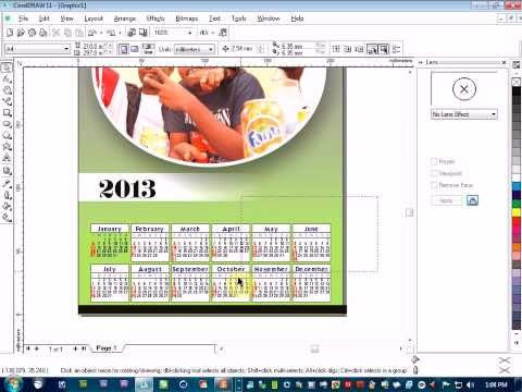 How To Create Calendar In Corel X6 How To Make A Logo With Coreldraw Corel Discovery Center 83 Calendar Create With Coreldrawmanual การออกแบบปฏิ