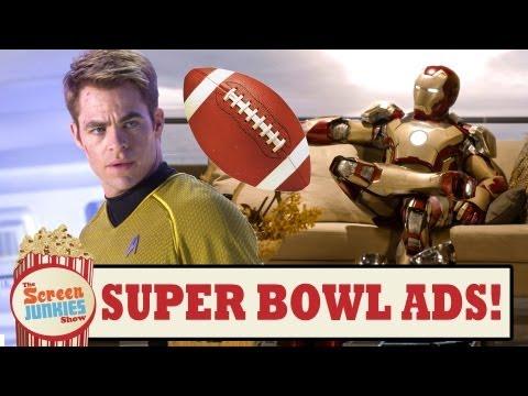 Super Bowl Movie Trailers 2013!