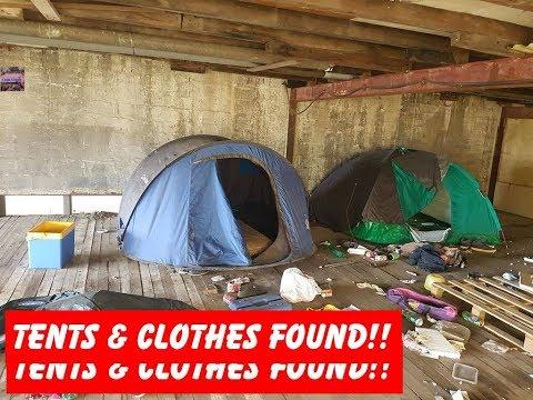 Urbex Abandoned Atelier Jones, Clothes & Tents Found!!