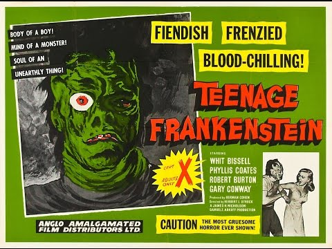 I Was a Teenage Frankenstein 1958
