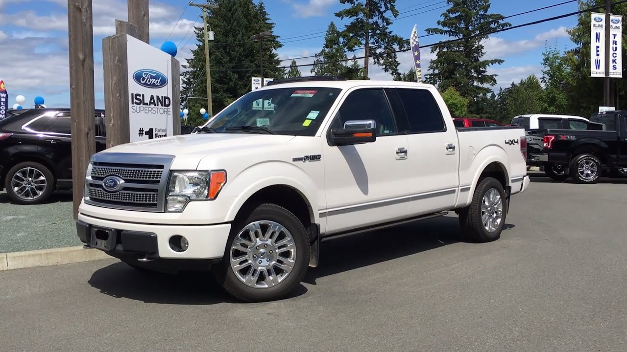 2010 ford f 150 platinum heated cooled seats w juke box review island ford youtube. Black Bedroom Furniture Sets. Home Design Ideas