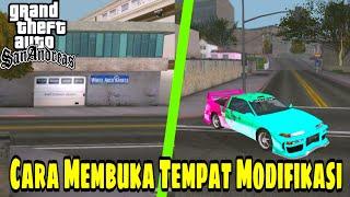 CARA MEMBUKA TEMPAT MODIFIKASI (stealing car 2) - Gta San Andreas Android