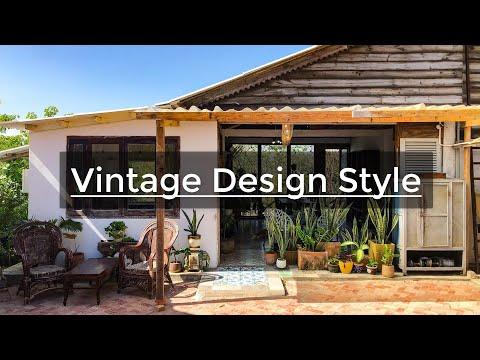 Thiết Kế Nội Thất VINTAGE - Phong Cách Vintage - Ngôi Nhà Vintage Hoài Cổ Có CHI PHÍ CẢI TẠO CỰC RẺ