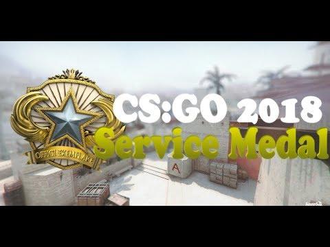 CS:GO Service Medal 2018