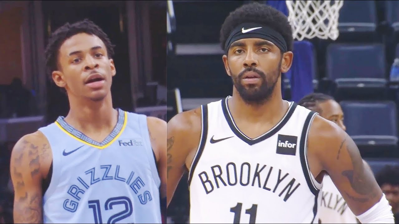Kyrie Irving & Ja Morant Crazy Duel Then Jae Crowder Hits Game Winner! Nets vs Grizzlies