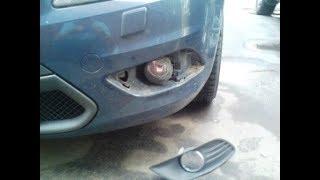 Форд фокус 2 снятие фары
