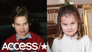 Princess Charlotte Looks Just Like Her Dad Prince William & Fans Are Loving It! | Access