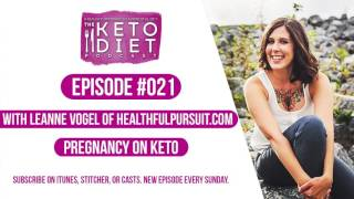 Pregnancy and Keto | The Keto Diet Podcast Ep 021 with Lily Nichols